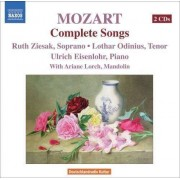 W. A. Mozart - Complete Songs (0747313290024) (2 CD)
