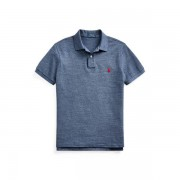 Polo Ralph Lauren Slim Fit Mesh Polo Shirt - Classic Royal Heather - Size: Extra Small