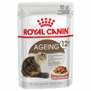 Royal Canin Ageing +12 in Salsa - 12 x 85 g