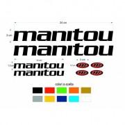 Visualizza ingrandito adesivi forcella manitou colori a scelta anche fluo mtb - 8pz stickers fork