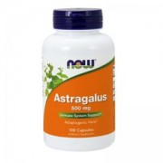 Астрагал 500мг. - Astragalus - 100 капсули - NOW FOODS, NF4605