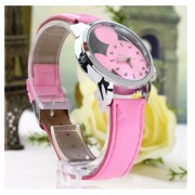 EH Mickey Mouse Reloj Disney Mickey Mouse Reloj De Pulsera De Cuarzo- Rosa