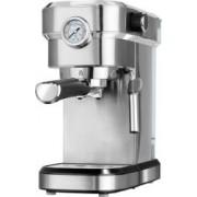 Espressor de cafea MPM,MKW-08M, Presiune 20 Bari, Putere 1350 W, Sistem Cappucino, Corp Inox, Manometru presiune
