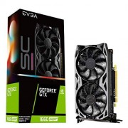 EVGA GeForce GTX 1660 SUPER SC Ultra Gaming, 06G-P4-1068-KR, 6GB GDDR6, Dual ventilator, metalen backplaat