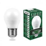 Лампа светодиодная Saffit SBG4509 G45 9W E27 4000K 55083