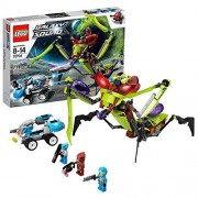"""Lego Year 2013 Galaxy Squad Series 10"""" Long Vehicle Set #70703 - STAR SLICER with Stinging Claws and a Cocoon Plus 2-in-1 Vehicle"""