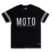 Camiseta Moto 99 Cinza