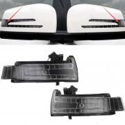 Mercedes-Benz Auto DC12V 1.8W leidde linkerzijde achteruitkijkspiegel Turn-signaal lampje in de LED Lamp A3159540C / A3159539C / A2129067501 / A2129067401 voor Mercedes-Benz