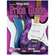 Hal Leonard The Official Vintage Guitar Magazine Price Guide 2018