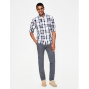 Boden NOUVEAU Chino léger coupe slim GRY Homme Boden, Grey - 40 34in