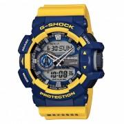 Reloj deportivo Casio GA-400-9BDR para adultos - Azul + Amarillo