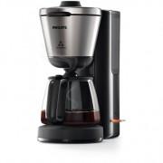 Cafetiera Philips Intense HD7695/90, 1000 W, 1.2 l, Negru/Inox