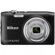 Nikon A100 Coolpix Fotocamera Compatta 20,1 Mpx Zoom Ottico 5x Colore Nero