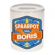 Bellatio Decorations Gekleurde Boris spaarpotten voor kinderen