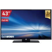 "Televizor TV 43"" LED VOX 43DIS289B 1920x1080 (Full HD) HDMI, USB, T2 tuner"
