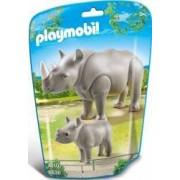 RINOCER CU PUI Playmobil