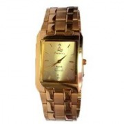 H.M.T Gold Plated SQUARE Men Watch