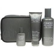 Clinique Skin Supplies Men (Gel Rasatura+esfoliante Viso+dopobarba+pochette) (020714308438)