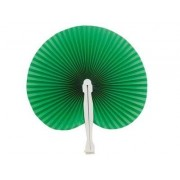 Green Hawaiian Paper Fans