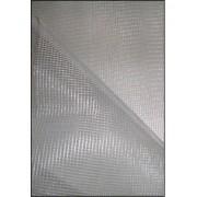 Tissu toile moustiquaire blanc large 1m95 au mètre