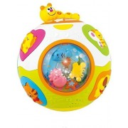 Playking Huile Toys Electronic Catch-Me Activity Ball Kids Puzzle Musical Instruments Early Teach Shape/Number/Animal Children Learning Toys