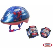 Spiderman - Set Protectie (Casca, Genunchiere, Cotiere) DArpeje