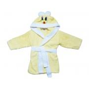 "Детски халат с ушички ""Beige Bunny"" - 100% Памук"