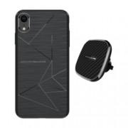 Set Husa Magnetica Nillkin Magic Case Apple iPhone Xr si Incarcator auto Wireless Magnetic Nillkin II Tip B