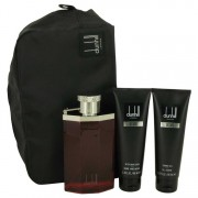 Alfred Dunhill Desire Eau De Toilette Spray 3.4 oz / 100.55 mL + Shower Gel 3 oz / 88.72 mL+ After Shave Balm 3 oz / 88.72 mL +