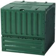 Tierra Garden Composter grande Eco King de polipropileno de 158 litros, Verde, 158-Gallon