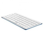 Rapoo / E6350-BU Bluetooth Mini Keyboard - BLUE / Blade Series