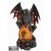 Figurine : Dragon sur oeuf
