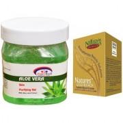 Nature's Essence Gold Bleach 43g Pink Root Aloe Vera Gel 500ml