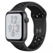 Смарт часовник Apple Watch Nike+ Series 4 GPS, 44mm Space Grey Aluminium Case with Anthracite/Black Nike Sport Band, MU6L2WB/A