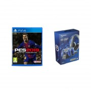 PES 2019 Europeo Ps4 + PowerA Cargador Completo PS4