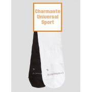 Charmante Комплект из 6 пар мужских спортивных носков белых (Charmante Universal Sport) SCHUS-1304