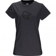 Norrøna /29 cotton logo T-Shirt (W) Svart