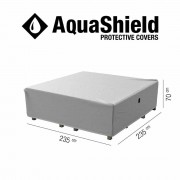 Aquashield loungeset hoes 235x235xH70 cm - antraciet