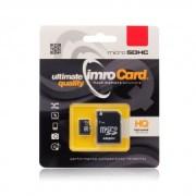Card de memorie Imro Micro SDHC 32 GB Clasa 10 + Adaptor SD