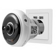 Telecamera Dome FullHD da Presa a Muro per Interni IR LED...