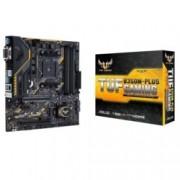 Дънна платка ASUS TUF B350M-Plus Gaming, B350M, AM4, DDR4, PCI-E(CFX), 6 x SATA 6Gb/s, 1x M.2, 2 x USB 3.1 Gen2, microATX