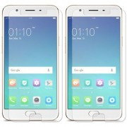 Deltakart Tempered Glass for Oppo F1s - Pack of 2