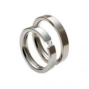 Snubní ocelové prsteny TR406R4