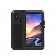 LOVE MEI Shockproof Dropproof Dustproof Case for Xiaomi Mi Max 3 - Black