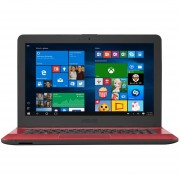 Laptop Asus X441SA Celeron N3060 RAM 4GB DD 500GB DVD Windows10 14''-Rojo