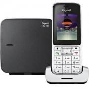 Безжичен DECT телефон Gigaset SL450, Сребрист, 1015138