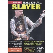Roadrock International Lick Library: Learn To Play Slayer DVD