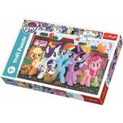 Puzzle clasic copii - Poneii la cumparaturi My little Pony 160 piese