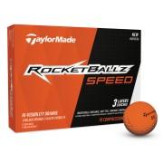 【TaylorMade Golf/テーラーメイドゴルフ】ロケットボールズ スピード オレンジ ボール /