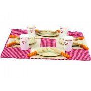 21 Piece Wooden Lunch Time Set by Hape